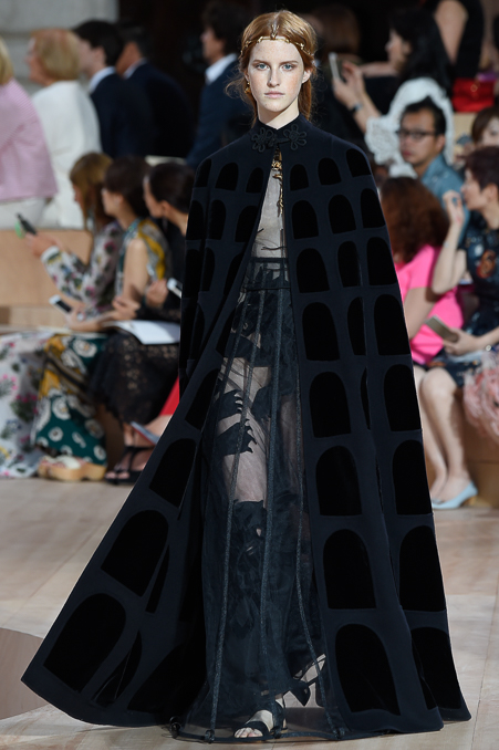 Valentino and its architectural inspiration
