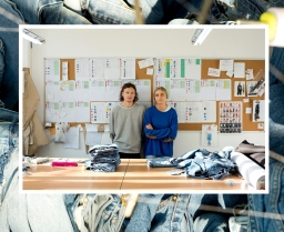 A denim talk with Ksenia Schnaider
